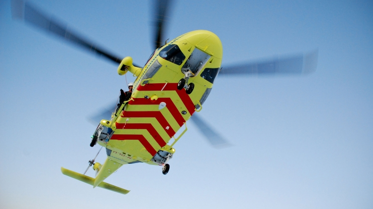 Illustrasjonsbilde: ambulansehelikopter.